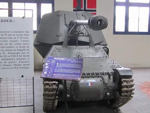 Tank Museum Saumur France