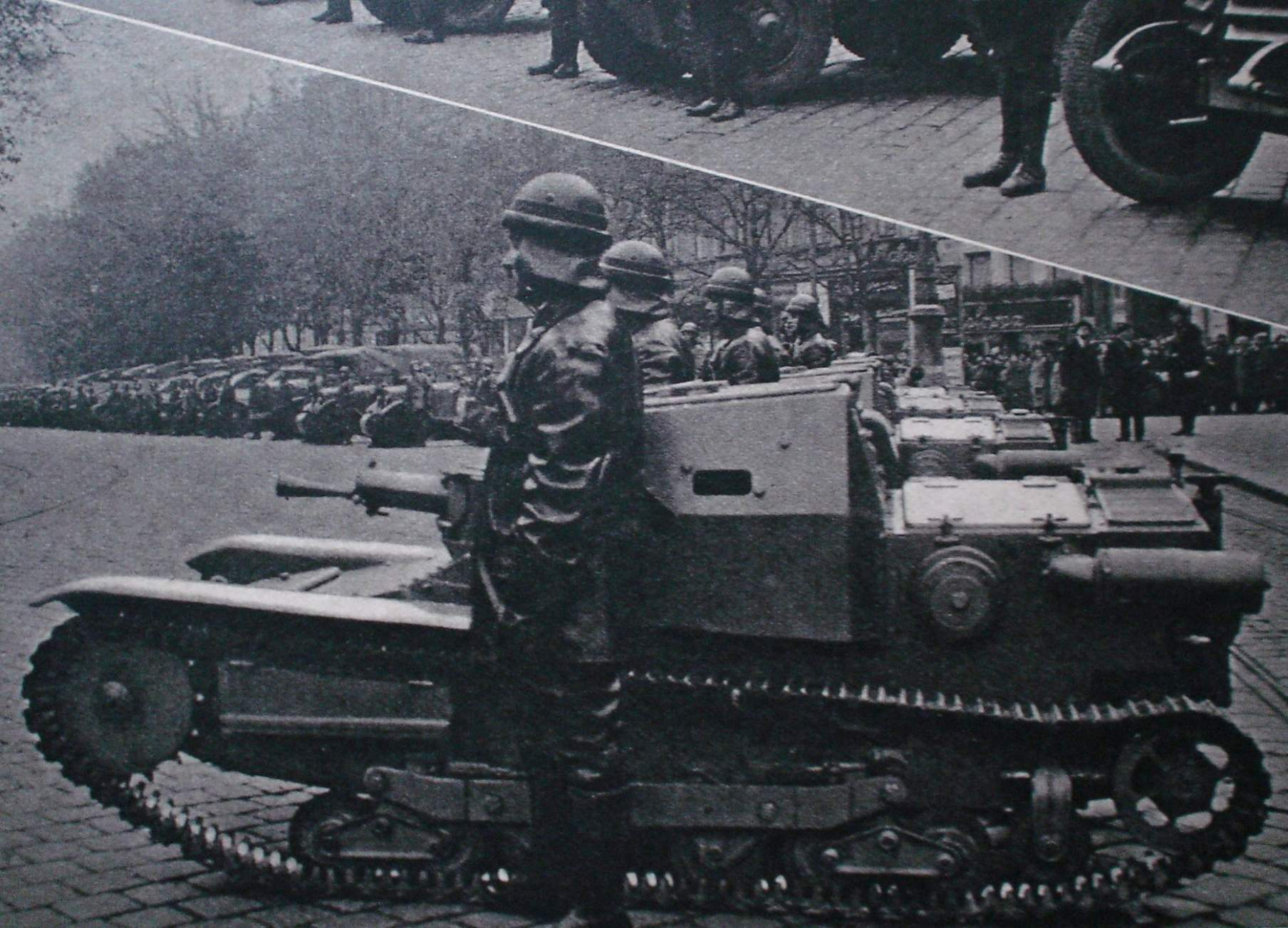 question  type of tankette