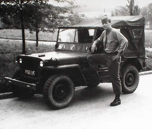 Jeep, but, not US-Army issued !