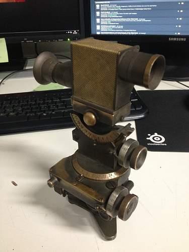 Italian gun sight - Help needed!