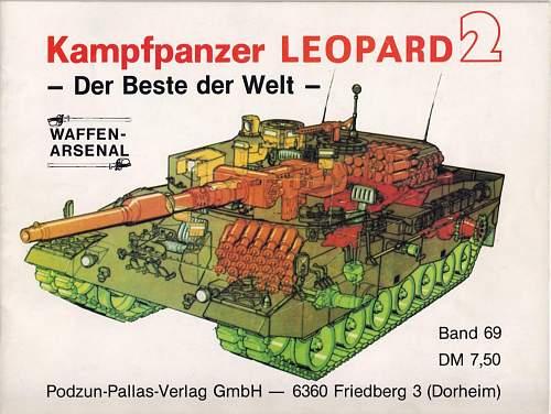 Leopard 2 drivers periscope......