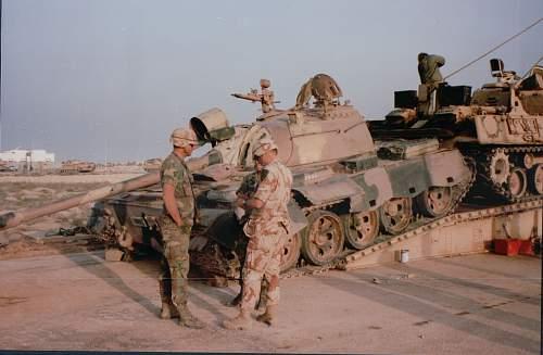 Desert storm armour