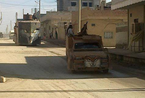 Captured ISIL Armored Monstrosity...