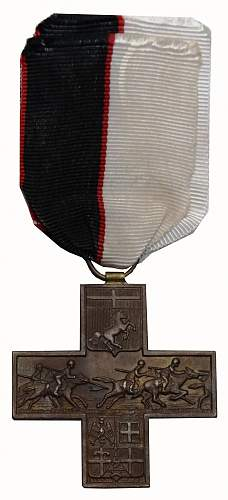 Cross of Savoia cavalry 1942