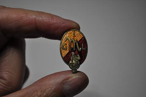 P.N.F. button badges