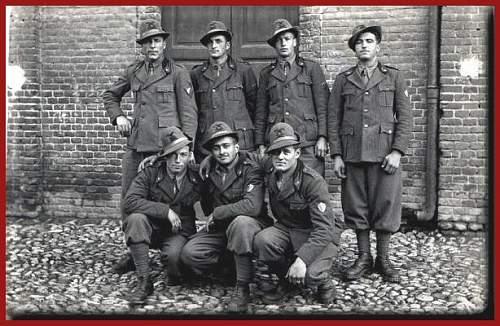 Help, WW2 Italian badges for I.D.