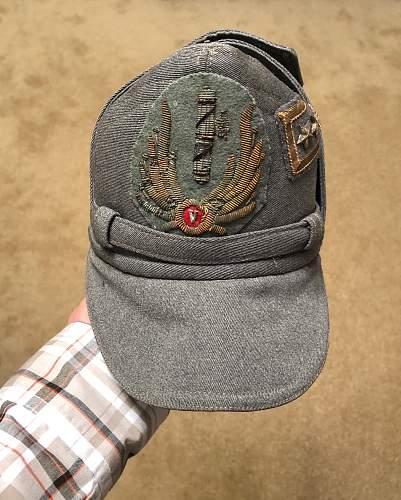 M34 cap?