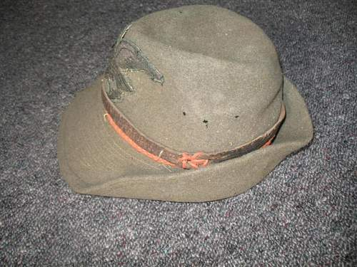 Help with hat and badge