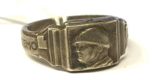 Mussolini ring