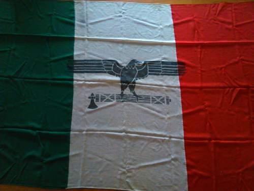 Italian Social Republic Flag