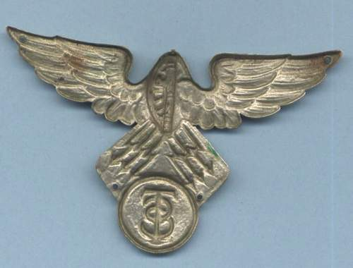 1 Italian Wing and 1 unknown stickpin -- Please help