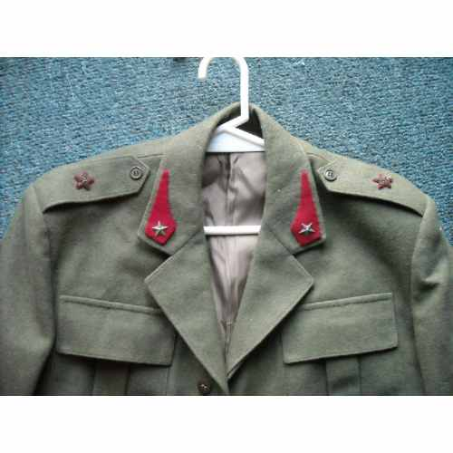 Italian Artillery Officer Jacket, original?