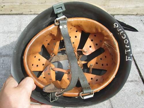 Italian M33 RSI Helmet