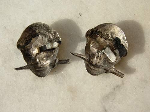 ww2 rsi skulls on ebay