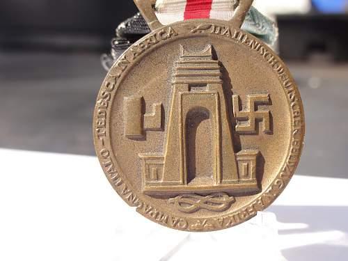 Italian medal for DAK original?