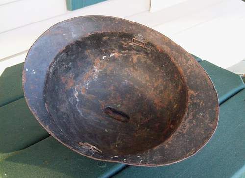 Thoughts on this Italian(?) Adrian Helmet?