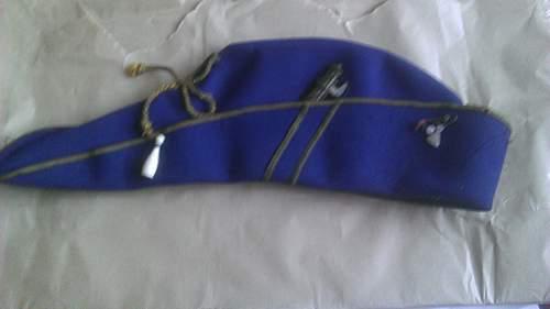 Unknown Italian Fascist cap