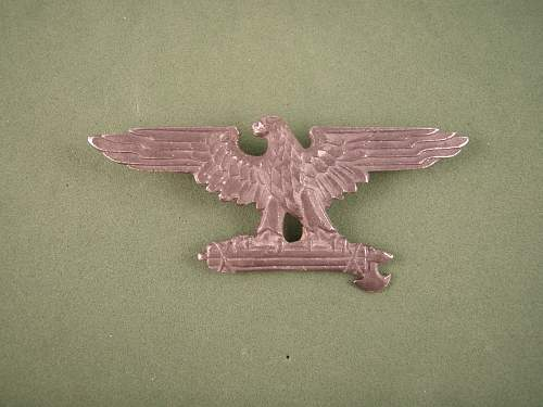 Italian SS Cap Eagle Authentic ?
