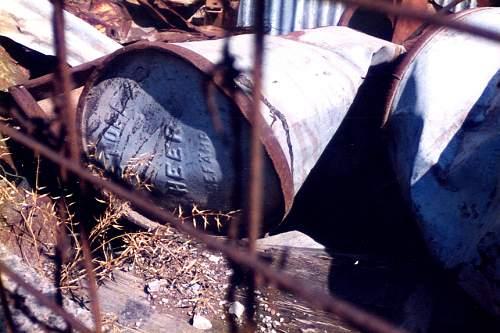 WW2 Italian oil barrels?????  Need help!!!!!!!!!!!!!!!!!!!!!!!!!!!!!!!!!!!!!