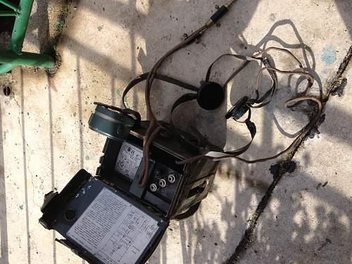 aparato telefonico mod.33 laggero