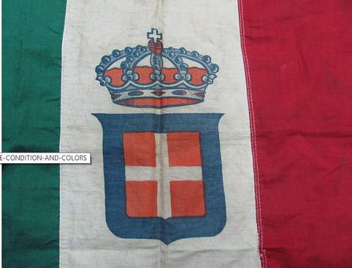 WW2 Italian flag