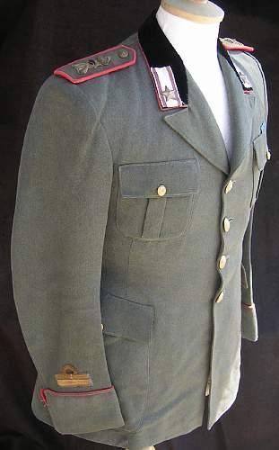 Italian Modena Division Tunic