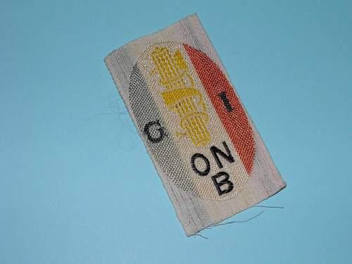 ONB badge