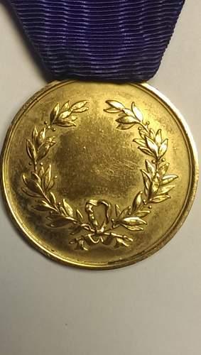 Italian Medaglia Al Valore Militare