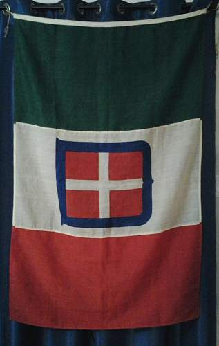 WW2 Italy civic flag
