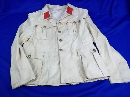 Real or fake Italian SS uniform? (North Africa Tropical)