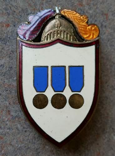 Unidentified Italian pin