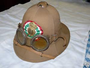Real Italian Pith helmet?
