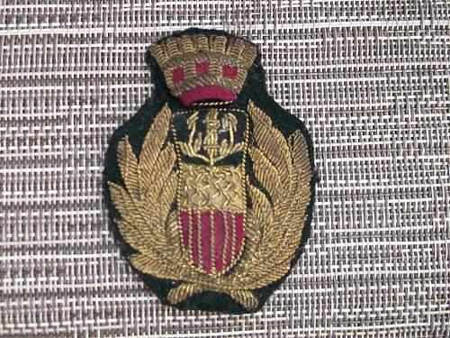 help identifying my Italian militaria
