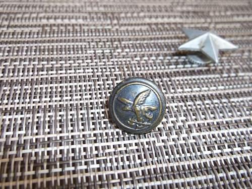 Italian uniform buttons