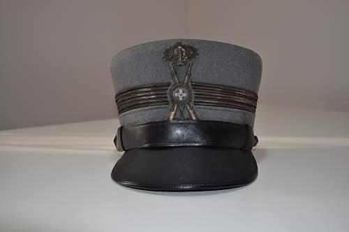 Regio Esercito peaked cap Mod. 1926