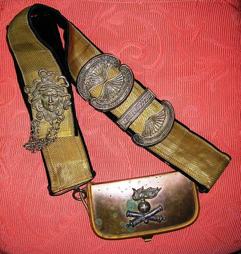 Bandolier with case