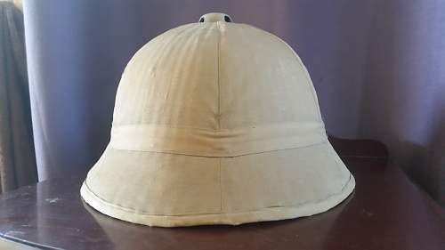 Is This A Wartime Tropical Hat?