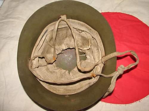 Original WWII Japanese type 90 helmet?