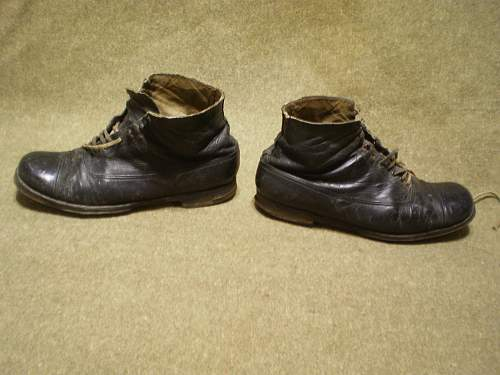 Imperial Japanese Navy Officer ankle boots