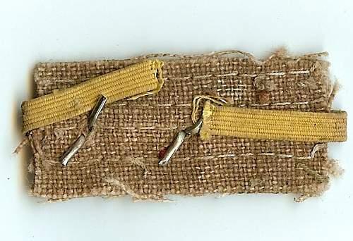 Mystery Japanese Army Collar Tab