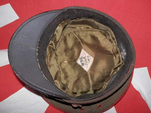 Imperial Japanese Officer hat