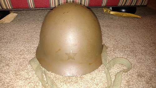 Any thoughts on this Type 90 Japanese Army Helmet?