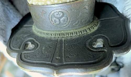Old non-military tachi