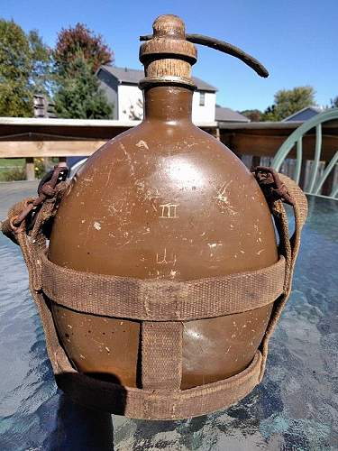 WWII Japanese Canteen