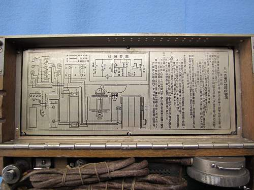 Japanese Type 92 Field Phone to share