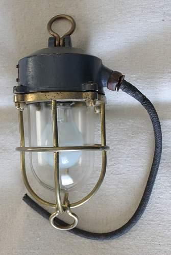 Navy Speed Light