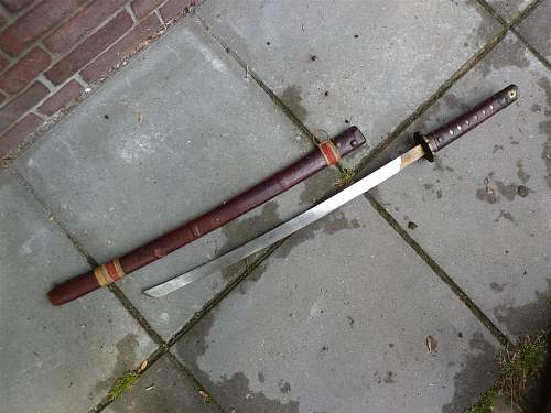 Samurai sword - part two