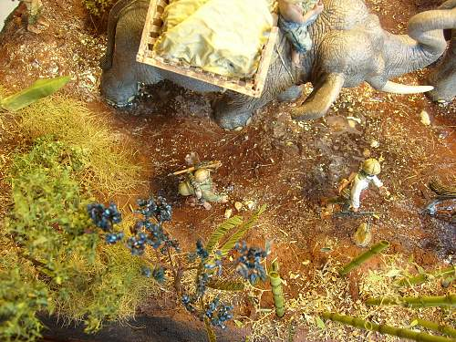 The last off topic one diorama with Japaneses in Burma