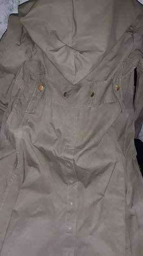 Unusual raincoat
