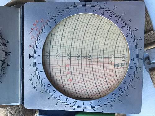 Japanese flight navigational tool(?)